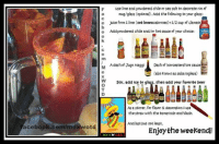 Clamato recipe! Great for the crudas! www.tuvez.com/lol #MexWord #TuVez: aceboo  F use lime and powdered chile or sea salt to decorate rim of  a rmag/glass (optional). Add the following to your glass:  e juice from 1 lime (not lemoncabrones)+1/2 cup of clamato  o Adapowdered chile and/or hot sauce of your choice:  CLAMAIO  M Adashof Jugo Maggi  Dash of Worcestershire sauce  alsa inglesa)  W stir, add ice to glass. then add your favorite beer  As a stirrer, for flavor &decoration I use  the straw with the tamarindo enchilado.  And last but not least.  Enjoy the weekend!  HEX Clamato recipe! Great for the crudas! www.tuvez.com/lol #MexWord #TuVez