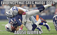 LIAR!!!!!  Like Our Page NFL Memes: EVIDENCE THAT GREG HARDY DOES  ou  ONFLMem  ABUSE WOMEN LIAR!!!!!  Like Our Page NFL Memes