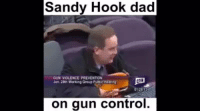 Sandy Hook dad  GUN VIOLENCE PREVENTION  Jan Working Group  on gun control This man is our new HERO
