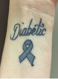 Jabda Please check out our OTHER tattoo photo album for 1000 other type 1 diabetes tattoos!  Please send us your tattoos in a FB MESSAGE and we will add it to the album!