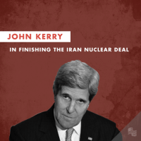 Friday, Best, and Iran: JOHN KERRY  IN FINISHING THE IRAN NUCLEAR DEAL On Friday, we nominated 3 candidates for Best Supporting Role in the Nuclear Iran Deal and asked you to vote. The winner of Best Supporting Role in the Iran Nuclear Deal is John Kerry in finishing the Iran Nuclear Deal.