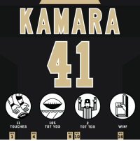 Football, Memes, and Good: 105  TOT YDS  2  TOT TDS  TOUCHES  WIN!  WK  WK  WK WK  WK  1  4  16 That @A_kamara6 is a good football player. #HaveADay  #GoSaints #PITvsNO https://t.co/UVoGu1F9vZ