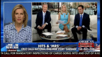 Rubio did start this stuff.Ted Cruz denies cheating on his wife and blames Trump for spreading the lie. Laura Ingraham says the story was started by RUBIO not Trump: AMERICAS  REELECTION HG  HITS & 'MRS'  POLLS CLOSE IN:  channel  CRUZ CALLS NATIONAL ENQUIRER STORY GARBAGE 12:5O.05  TH CALL FOR MANDATORY INSPECTIONS OF CARGO GOING INTO AND OUT OF NKC Rubio did start this stuff.Ted Cruz denies cheating on his wife and blames Trump for spreading the lie. Laura Ingraham says the story was started by RUBIO not Trump