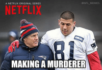 Coming soon... Credit: James McCormick: NFL MEMES  A NETFLIX ORIGINAL SERIES  NETFLIX  MAKING A MURDERER Coming soon... Credit: James McCormick