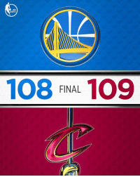 Memes, Warriors, and 🤖: 108 FINAL 109 Don't let this scoreboard distract you from the fact that the Warriors blew a 14-pt lead in the 4th quarter 🤐