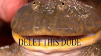 this: DELET HIS DUDE