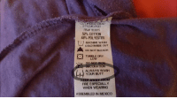 Always wash your butt: 10850 44047  STYLE DURGD  RNA 103615  52% COTTON  48% POLYESTER  MACHINE WASH  COLD INSIDE OUT  DO NOT BLEACH  TUMBLE DRY  LOW  NOT  DECORATION  ALWAYS WASH  YOUR BUTT  KEEP AWAY FROM  FIRE ESPECIALLY  WHEN WEARING  ASSEMBLED IN MEXICO Always wash your butt