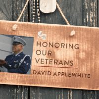 Apple, Guns, and Work: HONORING  OUR  VETERANS  DAVID APPLE WHITE Sgt. David Applewhite served in the United States Air Force during the Vietnam War from 1968-1972. He was a Security Policeman and served in Korea during the USS Pueblo incident and afterwards. He was assigned Base Defense and worked machine gun post, guarding the perimeter and aircraft. Upon his return from Korea, he was stationed at Little Rock AFB, Arkansas in the Law Enforcement division. After leaving the Air Force, he served as a Policeman in Texas for 30 years. After retirement, he dedicated himself to helping Veterans. Like and share to thank David for his service!