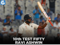 IND vs ENG, 5th Test, Day 4: IND - 568/5 (159.3)   Karun Nair - 184*(284) , Ravichandran Ashwin - 51*(116)   India lead by 91 runs: 10th TEST FIFTY  RAVI ASHWIN IND vs ENG, 5th Test, Day 4: IND - 568/5 (159.3)   Karun Nair - 184*(284) , Ravichandran Ashwin - 51*(116)   India lead by 91 runs