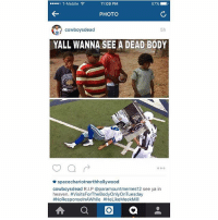 lol paramount memes is on his hitlist 😂 what you guys think? Should i roast him lol IDidntStealYourPic ImLaughingAtHowBadlyPhotoShoppedItIs: 11:09 PM  o T-Mobile  87%  PHOTO  5h  cowboys dead  YALL WANNA SEE A DEAD BODY  o o o  spacechariotnorthhollywood  cowboys dead R.I.P @paramountmemes12 see ya in  heaven. #visitsForTheBodyOnlyOnTuesday  #NoResponselnAWhile #HeLikeMeekMill  A a O a lol paramount memes is on his hitlist 😂 what you guys think? Should i roast him lol IDidntStealYourPic ImLaughingAtHowBadlyPhotoShoppedItIs