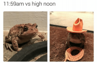 High Noon: 11:59am vs high noon