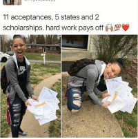 This is actually better than any twerking video or pics with big Ass that I've seen, stunt on em with education👌: 11 acceptances, 5 states and 2  scholarships, hard work pays off This is actually better than any twerking video or pics with big Ass that I've seen, stunt on em with education👌