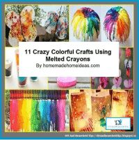 11 Crazy Colorful Crafts Using  Melted Crayons  By homemadehomeideas.com  DIY And House Tips  DIY And Household Tips /diyandhouseholdtips.blogspot.ca 11 Crazy Colorful Crafts Using Melted Crayons https://t.co/Gh5nlqiAuQ #crafts #crayoncrafts #meltedcrayons https://t.co/RBFFUQuicX