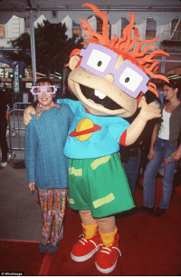 Chucky, Memes, and Rugrats: 11  LL  © WireImage RIP Christine Cavanaugh The voice behind Chuckie-Rugrats, Babe and Dexter from Dexter's Laboratory passed away at 51