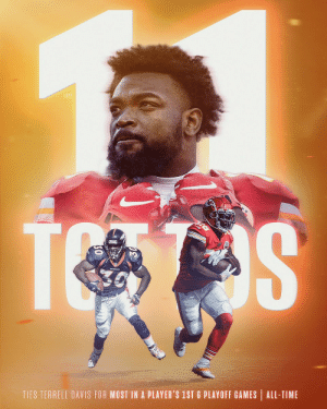 11 TDs. Damien Williams' career postseason run is wild. 👀 @chiefs https://t.co/1A3CBQP3ws: 11 TDs. Damien Williams' career postseason run is wild. 👀 @chiefs https://t.co/1A3CBQP3ws
