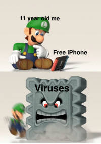 Fresh, Iphone, and Free: 11 year old me  Free iPhone  ruses Content came out two days ago! Nice and fresh for your investing!! via /r/MemeEconomy https://ift.tt/2D1t86N