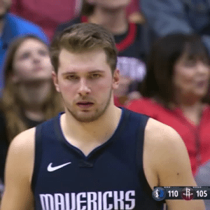 Luka dropping 41 & 10 on Harden & the Rockets!    https://t.co/JzJULgZpfN: 110 105  MAVERICKS Luka dropping 41 & 10 on Harden & the Rockets!    https://t.co/JzJULgZpfN