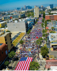 Love this picture! About 30,000 people marched on the streets of Los Angeles this past Monday. 🙌🏽❤️ MayDay PeoplePower ✊🏽 - PC 📸: Jorge-Mario Cabrera HereToStay immigration undocumented immigrants UndocumentedAndUnafraid not1more: 1111111  McDon  Bis Love this picture! About 30,000 people marched on the streets of Los Angeles this past Monday. 🙌🏽❤️ MayDay PeoplePower ✊🏽 - PC 📸: Jorge-Mario Cabrera HereToStay immigration undocumented immigrants UndocumentedAndUnafraid not1more