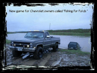 """New game for Chevrolet owners called """"Fishing For Fords"""