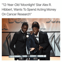 cancer research: 112-Year-Old Moonlight Star Alex R  Hibbert, Wants To Spend Acting Money  On Cancer Research