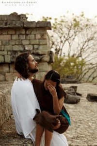 No matter what you've gone through in life, through the atonement of Jesus Christ, you can always come back.: REFLECTIONS OF CHRIST  MARK MABRY No matter what you've gone through in life, through the atonement of Jesus Christ, you can always come back.