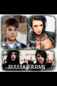 "Hot Memes: ""Neither  Creaming  sn't  whini  HOT TOPIC  ITT PIC  BUUUUURRRNN"