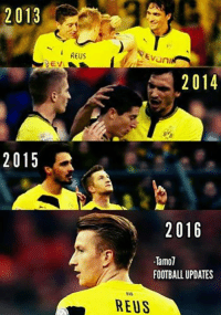 Once upon a time at Borussia Dortmund...: 2013  2015  REUS  Evuni  2014  2016  Tamol  FOOTBALL UPDATES  REUS Once upon a time at Borussia Dortmund...