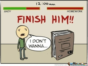 Tumblr, Http, and Homework: 12:00 am  ANDy  HOMEWORK  FINISH HIM!  I DON'T  WANNA.  memecenter.com Mamecentera If you are a student Follow @studentlifeproblems​