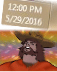 It's high noon: 12:00 PM  5/29/2016 It's high noon