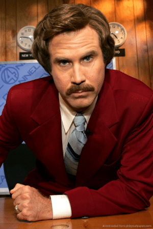 """""""Ron"""" is the Spanish word for """"Rum"""" and Burgundy is a shade of Red. Ron Burgundy's name means RedRum. This is a reference to the fact in the movie Ron Burgundy, Will Ferell plays a psycho.: 12  12  10  NEW Y  downloaded from pickywallpapers.com """"Ron"""" is the Spanish word for """"Rum"""" and Burgundy is a shade of Red. Ron Burgundy's name means RedRum. This is a reference to the fact in the movie Ron Burgundy, Will Ferell plays a psycho."""