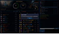 Memes, Diamond, and Victorious: 12  175  DAS IT GURL  VICTORY  IP  34/17/30  x 17/34/28  League update  7/38  You have been promoted to Diamond ,congratulationst  6/28  225  5/33  125  12k 206  10.7k 198  7.6k 22  REusza Moa  Canuck Mountie KoguL  cokes say NO  EDIspencer xD 17 sw  Canuck Mountie joined he room  Nae in earned cr Jacel jungle jayce OP!!!!  WINGS + MEME + CHALLENJOUR SOON!!!  GURL DAS IT! first time in diamond 1 inb4 demote