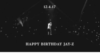 SPONSORED: HappyBirthdayJAYZ! Watch all of your favorite JAYZ's videos and performances on @TIDAL's exclusive livestream: TIDAL.COM-YEAROF444: 12.4.17  HAPPY BIRTHDAY JAY-Z SPONSORED: HappyBirthdayJAYZ! Watch all of your favorite JAYZ's videos and performances on @TIDAL's exclusive livestream: TIDAL.COM-YEAROF444