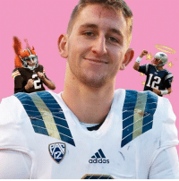 """UCLA head coach Jim Mora asked Josh Rosen, """"Do you want to be Johnny Manziel or Tom Brady?"""" Who do you think he'll become? [Link in Bio]: 12  adidas UCLA head coach Jim Mora asked Josh Rosen, """"Do you want to be Johnny Manziel or Tom Brady?"""" Who do you think he'll become? [Link in Bio]"""