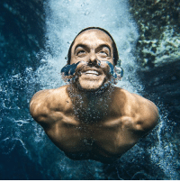 Memes, Red Bull, and Colombia: 12 JUL: Orlando Duque of Colombia is pictured underwater after a dive on Islet Franca do Campo, the second stop of Red Bull Cliff Diving World Series in Sao Miguel, Azores, Portugal. Photo by Samo Vidic-Red Bull via Getty Images BBCSnapshot diving competition water