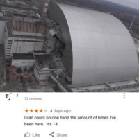 Been, Chernobyl, and Can: 12 review  4 days ago  I can count on one hand the amount of times Ive  been here. It's 14  6 Like  Share Chernobyl Aftermath (1988)