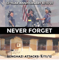 9/11: 12-YEAR ANNIVERSARY 9/11/01  NEVER FORGET  BENGHAZI ATTACKS: 9/11/12
