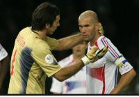 Memes, Game, and History: 12 years ago Zidane was sent off in his final WC  game against Buffon's Italy  Today Buffon is sent off in his final UCL game against Zidane's Real M  History repeats itself... https://t.co/t64AH59wzn