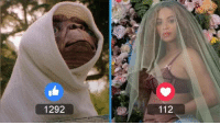 Memes, Who Wore It Better, and E.T.: 1292  112 Who wore it better? E.T. The Extra-Terrestrial or Beyoncé?