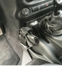 Condition Zero Pistol Mount for Jeep Wrangler: Gear Review - The Truth About Guns: 12V DC Condition Zero Pistol Mount for Jeep Wrangler: Gear Review - The Truth About Guns