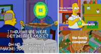 These Virus-Ridden LimeWire Memes Are A Hilarious Blast From The Past: 12ylo me wantin  free music  limewire  ITHOUGHT WE WERE  GETTING FREE MUSIC?  the family  computer  OH NO I SAID ILL BE  MAKING YOUR COMPUTER SICK These Virus-Ridden LimeWire Memes Are A Hilarious Blast From The Past