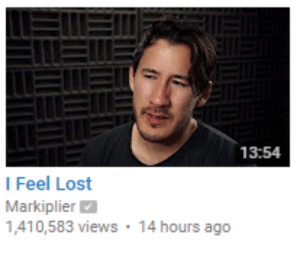 Tumblr, Lost, and Blog: 13:54  I Feel Lost  Markiplier  1,410,583 views 14 hours ago mactheturtle: papatulus: i cant be arsed to watch a 14 min video someone tell me what he's whining abt now he owns 14 different recording rooms and he forgot which one he was in