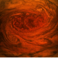 Fresh, Memes, and Nasa: 13 JUL: An American space agency probe has returned the most detailed pictures ever of Jupiter's Great Red Spot. The Juno spacecraft passed over the giant storm on Monday as it continued with its series of close passes of the gaseous world. The pictures of the spot reveal the intricate nature of its swirls which encompass a region bigger than Earth. Juno's instruments all acquired data during the pass which should now provide fresh insight on the storm. PHOTO: NASA-SWRI-MSSS -GERALD EICHSTÄDT - SEÁN DORAN BBCSnapshot photography NASA Juno space Jupiter nightsky