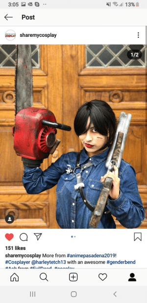 Ash, Soon..., and The Game: . 13%  OS  3:05  Post  SHARE HY  COSPLAY  sharemycosplay  1/2  Q  151 likes  sharemycosplay More from #animepasadena2019!  #Cosplayer @harleytetch13 with an awesome  #genderbend  ^ab from #CviIDoad Hooonlav  +  II Need help!!! Looking for a dead by daylight ash build I'm new to the game and I'm a huge evil dead fan as you can tell from my cosplay and as soon as my friend told me the game was on sale I picked it up today but don't really know how to build him up please help me