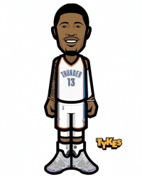 Paul George OKC Thunder Tyke. The Indiana Pacers have agreed to trade Paul George to the Oklahoma City Thunder in a stunning deal on the eve of free agency. According to the reports, Victor Oladipo and Domantas Sabonis will be headed to Indiana in the other direction. The deal includes no draft picks. GOOD MOVE? PaulGeorge Thunder MyTyke: 13 Paul George OKC Thunder Tyke. The Indiana Pacers have agreed to trade Paul George to the Oklahoma City Thunder in a stunning deal on the eve of free agency. According to the reports, Victor Oladipo and Domantas Sabonis will be headed to Indiana in the other direction. The deal includes no draft picks. GOOD MOVE? PaulGeorge Thunder MyTyke