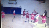 Basketball, White People, and For: #13 was really trying to throw hands for like .5 seconds https://t.co/taIK9MZhOb