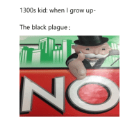 True, Black, and True Story: 1300s kid: when I grow up-  The black plague: true story