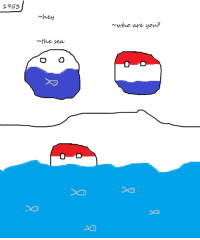 1353  ~hey  n the sea  D  who are you? 1953, when holland got devoured by the sea.