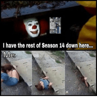 Truth 😂 https://t.co/LwajPzG7oL: 14.  I have the rest of Season 14 down here...  Me Truth 😂 https://t.co/LwajPzG7oL