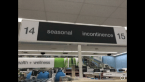 And I thought seasonal allergies were bad, sheesh!: 14  incontinence15  seasonal  ealth+wellness And I thought seasonal allergies were bad, sheesh!