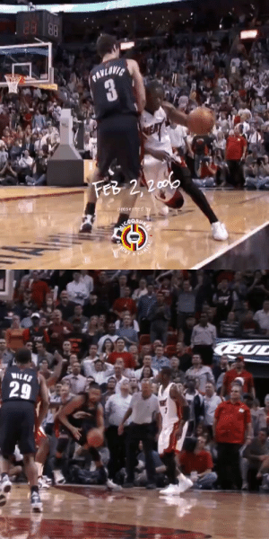 14 years ago today, Dwyane Wade made this incredible play!  https://t.co/riqLR5FGph: 14 years ago today, Dwyane Wade made this incredible play!  https://t.co/riqLR5FGph